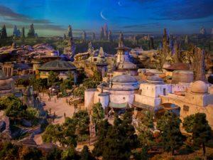 """Disney revela primeiras imagens do parque temático """"Star Wars"""""""