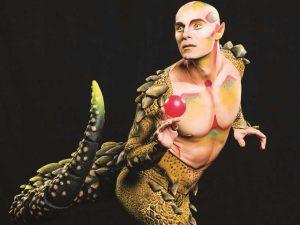 """Maquiagem de """"Amaluna"""", do Cirque du Soleil, é feita pelos próprios artistas"""