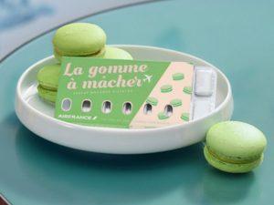 Air France lança goma de mascar para aliviar pressão nos ouvidos com sabores à francesa