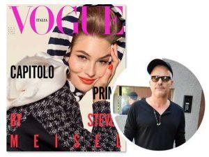 Vogue Itália estreia novo layout sob o comando de Giovanni Bianco na direção criativa