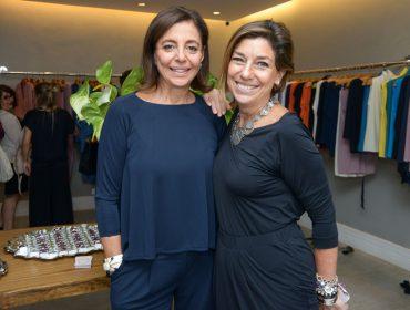 Consuelo Blocker e Angela Motta lançam em São Paulo coleção em parceria