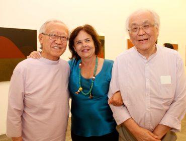 Galeria Nara Roesler apresenta exposição de Tomie Ohtake. Aqui, a abertura!
