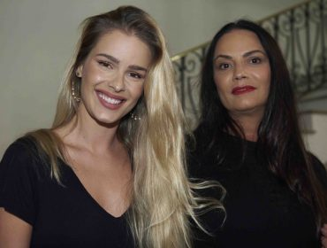 De Luiza Brunet a Luana Piovani em lançamento de Marco Antonio de Biaggi no Rio