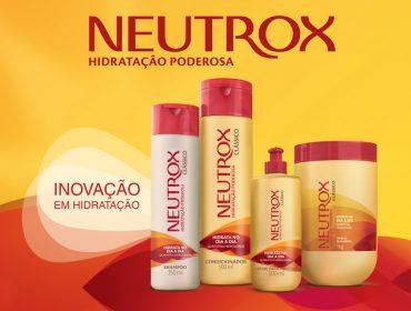 De cara nova, Neutrox apresenta novidades para uma hidratação poderosa