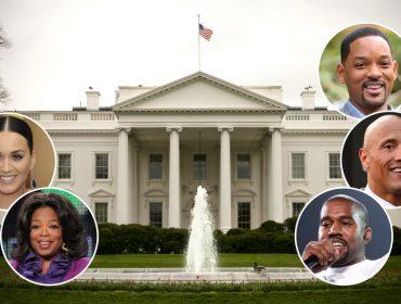 Palanque ou palco? 5 famosos de Hollywood que podem se candidatar à Casa Branca