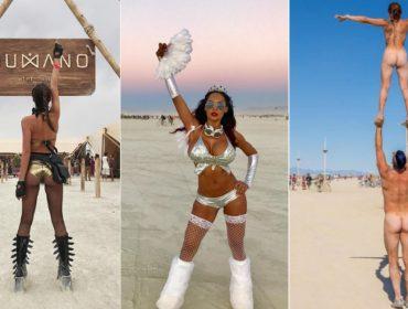 Ui, ui! Burning Man volta a incendiar o deserto de Nevada nos Estados Unidos!