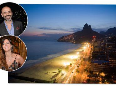 Carol Sampaio e Claudinho Gomesjá dispararam os convites da Festa Glamurama Rio por Peugeot