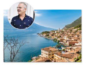 Giovanni Bianco elege spa em Lago di Garda na Itália para passar o aniversário