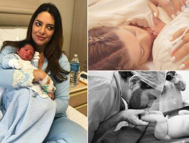 Karina Bacchi, Lethicia Bronstein e Kika Simonsen deram à luz nesta semana
