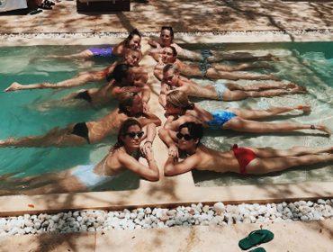 As férias de aniversário de Cara Delevingne e sua gangue de beldades no México