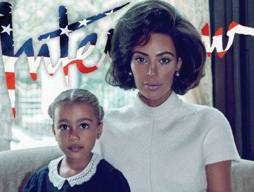 "Kim Kardashian em versão Jackie Kennedy na nova edição da ""Interview"". Wow!"
