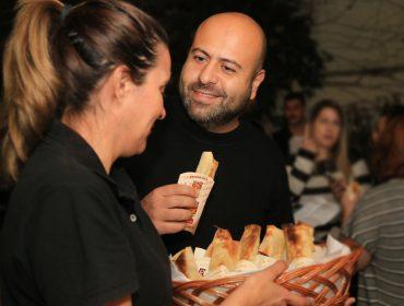 Nhac! Début da Norah Jour et Nuit no nosso QG teve muitos sabores de Pizza Crek