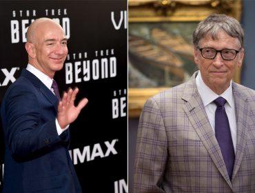 No Instagram há apenas quatro dias, Bill Gates já deixou Jeff Bezos comendo poeira