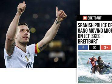 Site americano transforma Lukas Podolski em traficante de imigrantes. Entenda!