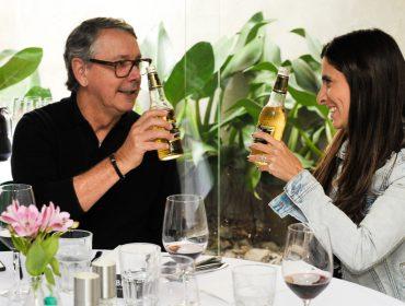 Miller brindou ao Dia dos Pais em almoço armado pelo Glamurama no Le Bife