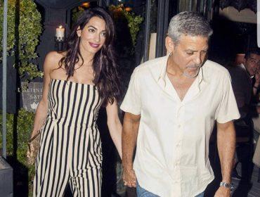 O estilo pós-maternidade (e de férias) de Amal Clooney