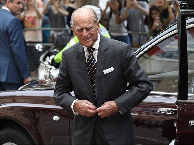 O príncipe Philip