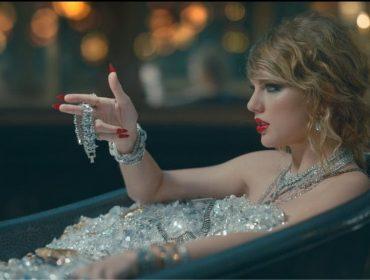 """""""Banho"""" de diamantes de Taylor Swift em novo videoclipe exigiu seguro de US$ 1 mi"""