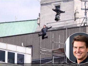 """Tom Cruise recusa dublê e se machuca nas gravações de """"Missão: Impossível 6"""""""