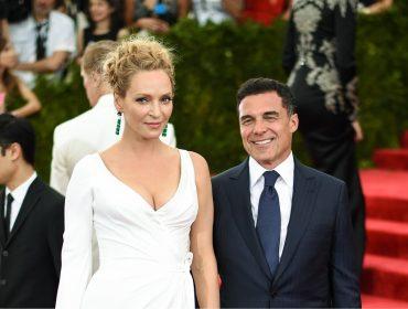 Estaria o ex-casal Uma Thurman e André Balazs ensaiando um retorno?