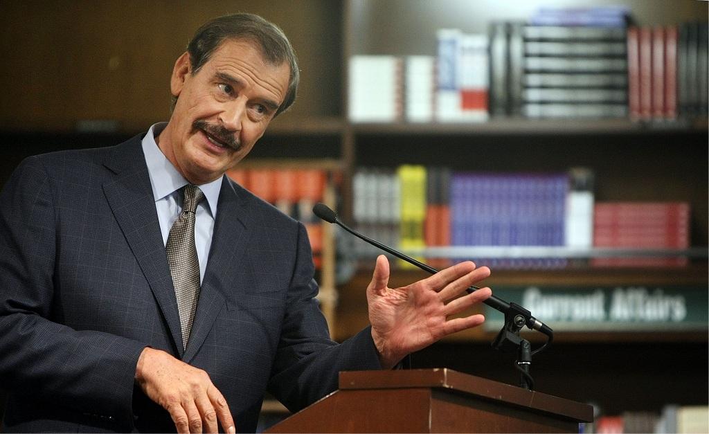Vicente Fox || Créditos: Getty Images