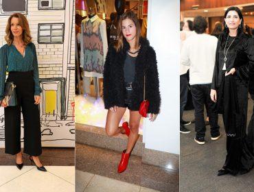 Mix de estilos marca as bem vestidas da semana agitada em São Paulo