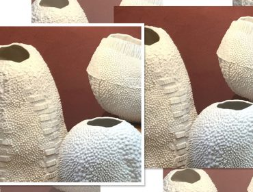 Lá em Casa: as porcelanas Oceânica, feitas a quatro mãos por Nicole e Luiza Toldi