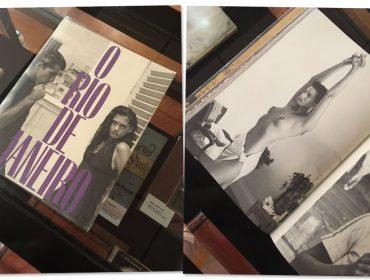 Em passeio por feira de fotografia, Luiza Brunet não assina sua própria foto em livro raro. O motivo?
