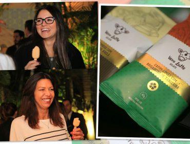 Novos sabores de Vero Latte foram sucesso na tarde de compras da Casa Glamurama