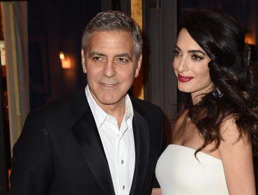 Amal e George Clooney doam US$ 1 mi para combater grupos de ódio dos EUA