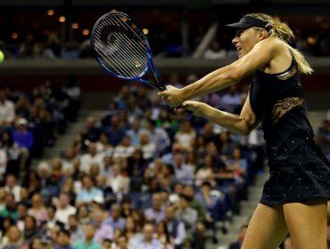 Maria Sharapova vence a 1ª rodada do US Open vestida de Riccardo Tisci X Nike