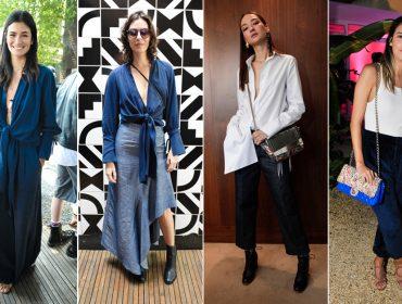 As bem vestidas que circularam pelo Lado B e pelos desfiles da semana de moda