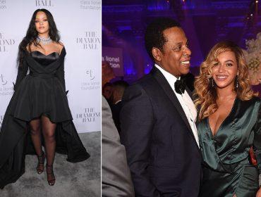 Gala de Rihanna em NY tem Beyoncé com look hi-low e decoração fúnebre. Confira!