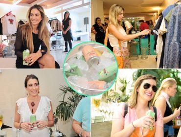 Delícia! Sucos e chás Liv Drinks refrescaram as tardes de compras do Glamurama