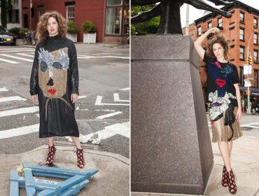Geová Rodrigues apresenta coleção de verão 2018 com neta de Audrey Hepburn