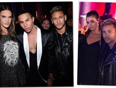 """Neymar """"fica"""" com modelo brasileira em festa durante semana de moda de Paris. Aos detalhes"""