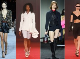 Paris calling! Shorts e bermudas são destaque na semana de moda mais chique do mundo