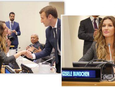 Gisele se une a Macron pelo planeta. Lembre 5 outros famosos que estão na luta com eles