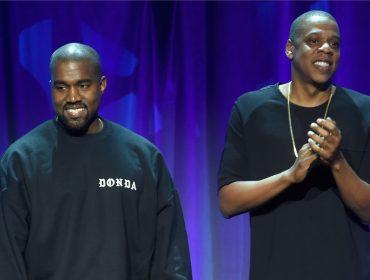 Kanye West acena bandeira branca para Jay Z, com quem está brigado há um ano
