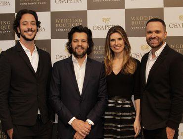 Nessa quarta-feira Constance Zahn, Tiago Pacheco, Fabio Mattar e Luciano Martins agitaram a Casa Petra