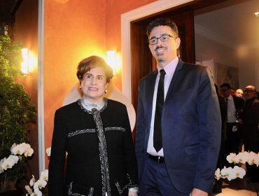 Ministro da Cultura Sérgio Sá Leitão ganhou jantar de Milú Villela em SP