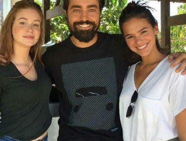 Bruna Marquezine e Marina Ruy Barbosa: rivais e mui amigas em nova novela da Globo