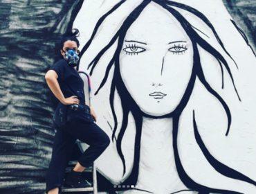 Saiu do forno o primeiro mural produzido por Rita Wainer fora do Brasil. Saiba aonde