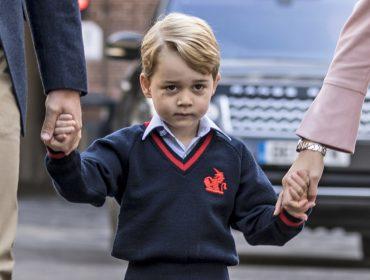 """Na escola há menos de três semanas, o príncipe George já está """"exausto""""…"""