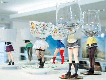 Lá em Casa: bons drinks com as taças do estúdio japonês Gelchop, à venda na Colette