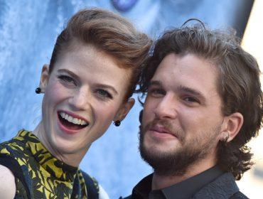 Estrelas de Game Of Thrones,Kit Harington e Rose Leslie estão noivos