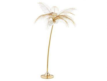 Lá em Casa: a luminária de chão com formato de palmeira da Crate & Barrel