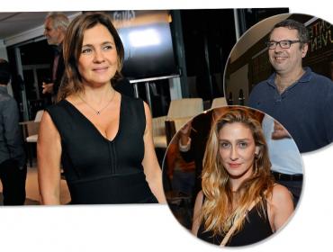 Adriana Esteves confirma repeteco com Joao Emanuel e Amora. Separadamente, claro