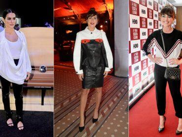 P&B em diferentes versões é destaque entre as bem vestidas da semana