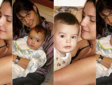 Luciana Cardoso, mulher de Fausto Silva, compartilha fotos dos filhos quando pequenos